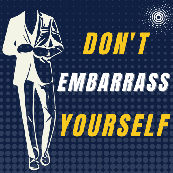 Image for our Don't Embarrass Yourself class