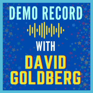 Image for Edge Studio's Demo Record with David Goldberg