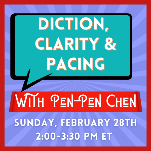 Image for Edge Studio's Diction, Clarity & Pacing class